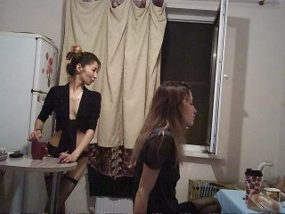beautytriple Longhaired teen makes love with her naughty pal on live cam