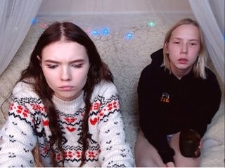 ilenelilibb Beautiful teen cam doll lies on side feeling fat dick in vagina on live cam