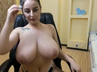 leya_gray Naughty gal spreads legs getting pussy caressed and drilled on live cam
