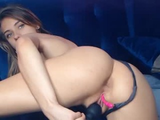 cherrishlulu Passionate and seductive redhead cam doll is getting pounded on live cam