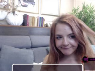 ginger_pie Playful teen rides big dick then gets fucked doggystyle on live cam