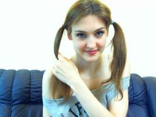 koketochka555 cam doll is undressed by man before getting cool cunnilingus on live cam